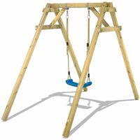 WICKEY Wooden swing set Smart One Children's swing