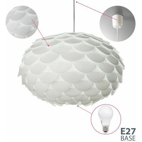 Lampadario Moderno Lampada A Sospensione Per Sala Da Pranzo O Soggiorno Lampada Da Soffitto In Plastica
