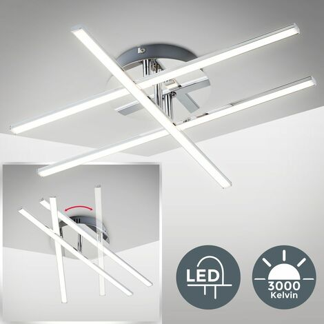 Plafoniera Led Da Soffitto Lampadario Moderno E Minimalista Luce Calda 3000k 1150 Lm Led Integrati Lampada