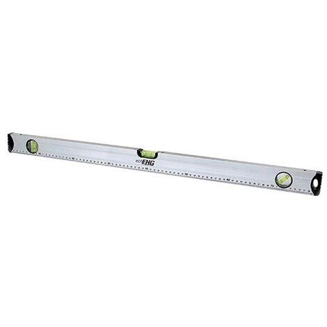 Livella bolla in alluminio magnetica scala graduata 3 bolle 300 mm - SM 60 LA30