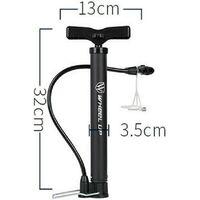 Pompe à pied pour vélo, automatique, réversible, mini pompe à air pour vélo, 120 PSI