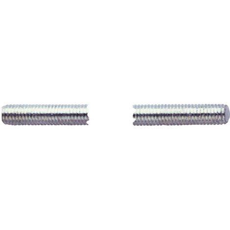 Varilla roscada DIN 976, acero, galvanizado, 1 m, M3 x 1000