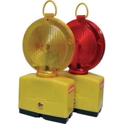 Luz intermitente obra Nitra-LED, amarillo