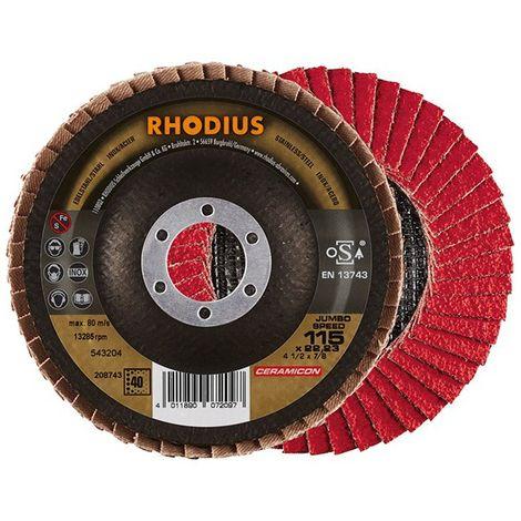 Disco de láminas JUMBO SP 115mm K 40 Rhodius(por 10)