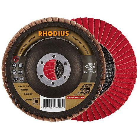 Disco de láminas JUMBO SP 115mm K 60 Rhodius(por 10)