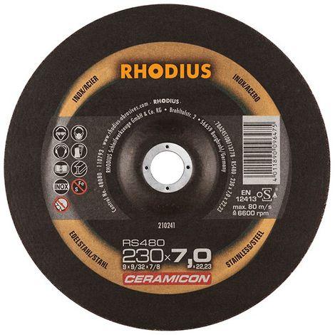 Disco de corte RS480 230 x 7,0mm Inox Rhodius(por 10)
