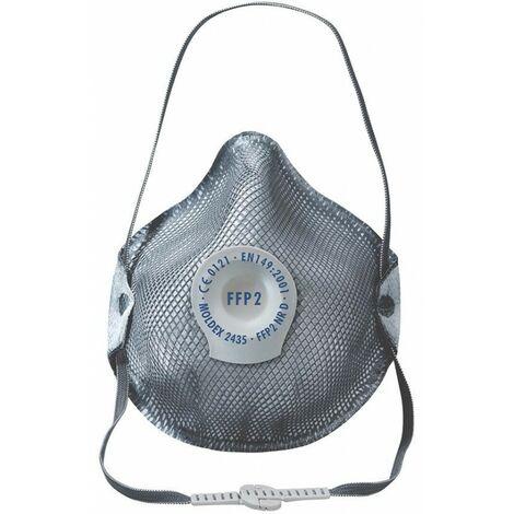 Máscara anti polvo2535, válvula, FFP3 NR D, contra el ozono (por 10)