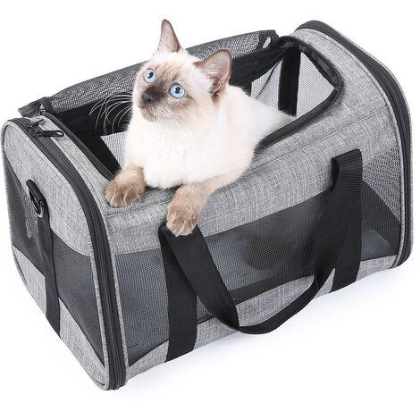 Portable Pet Carrier Folding Bag Car Seat Cat Dog Puppy Kennel Handbag Shoulder Bag