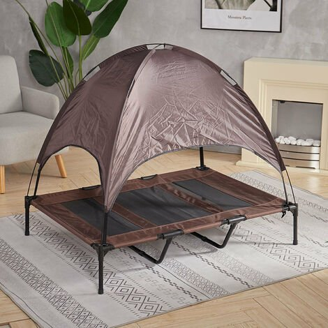 Elevated Raised Pet Bed Dog Puppy Canopy Portable Outdoor Waterproof XL