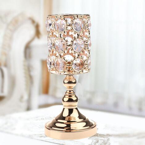 Stunning Crystal Tea light Holders Candle Votive Xmas TLight Wedding Party Decor