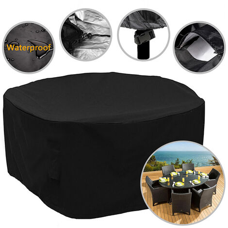 Round Table Chair Furniture Cover Outdoor Garden Patio