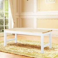 Wooden Bench Kitchen Dining Room Chair Bench Hallway Doorway Leisure Patio Seat