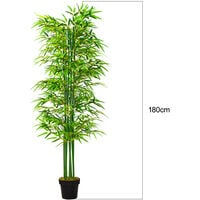 180CM Artificial Topiary Potted Bamboo Tree Plant