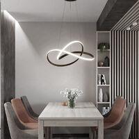 50CM LED Ceiling Light Wire Pendant Lamp Chandelier Lights, Cool White