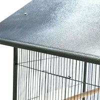 Large Metal Bird Cage Small Birds Finch Canary Cockatiel Budgie Parakeet Parrot