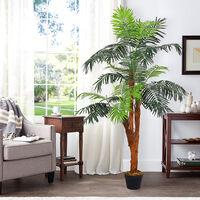 150CM Garden Artificial Palm Tree in Pot Fake Plant
