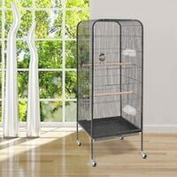 Large Metal Rolling Parrot Cage Bird Cage 143cm High