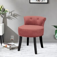 Velvet Dressing Table Chair Vanity Stool Piano Stools Dining Chairs Bedroom Room