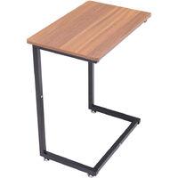 C-Shaped Bedside Sofa Side Table End Desk 56*36*67cm