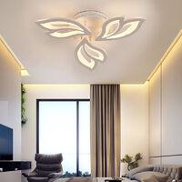 Modern Flower Shape LED Chandelier Ceiling Light , 3 Head Dimmable