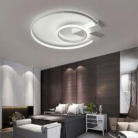 Modern Round LED Chandelier Ceiling Light , 50CM Cool White