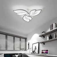 Modern Flower Shape LED Chandelier Ceiling Light , 3 Head Cool White