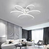 LED Lamp Ceiling Light Cool White Floral Pendant Chandelier, 58CM