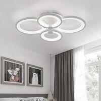 LED Light Ceiling Lights Cool White Chandelier Lamp, 4 Head