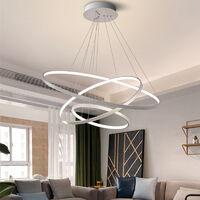 Modern 3 Circle Shape LED Chandelier Ceiling Light , 20+40+60CM Cool White