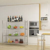 Commercial Catering Storage Rack Shelf Kitchen Stainless Steel Shelving Unit