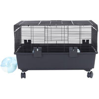 Large Hamster Cage 59cm with Running Tunnel House Hamsters Small Animal House