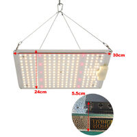 1000W Led Grow Light Panel Full Spectrum for Indoor Plants IR, Silver