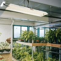 2000W Led Grow Light Full Spectrum for Indoor Plants, Silver