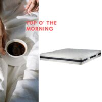 Sleepers Mattress DELEASY 135x190 cm H22 High density 25kg/m3 Premium and Durable Material 4'6 Double