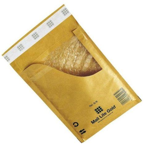 Enveloppes à Bulles Marron - Type D/1 - Format 180x260 mm Lot de 100