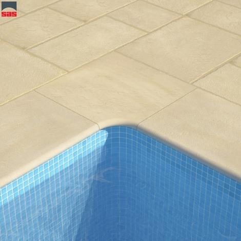 Margelle de piscine Domus-SPA SPARP-300 Crema