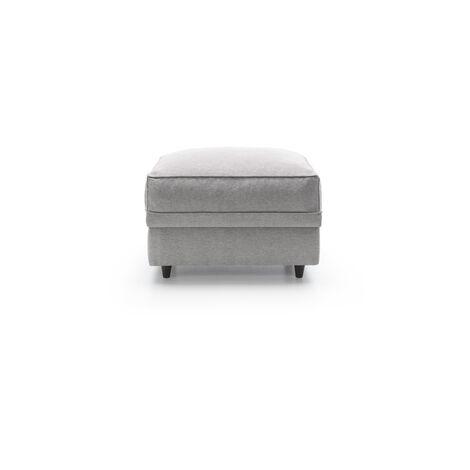 Darcy Footstool - color Light Grey