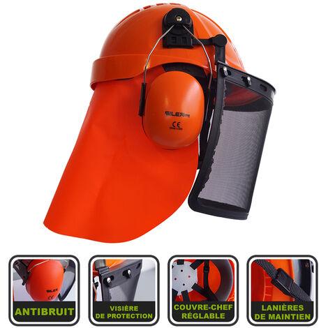 Casque de protection 3 en 1 antibruit et visière Silex®