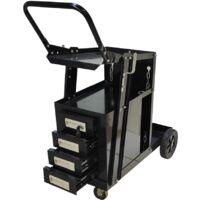 Poste à souder MIG/MAG IGBT/inverter 160A + chariot avec 4 tiroirs de transport Silex®