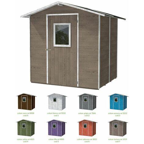 Casette Da Giardino Colorate.Casetta In Legno 200x167 Da Esterno Giardino Capanno Porta Attrezzi Box Ricovero Colore Bianco