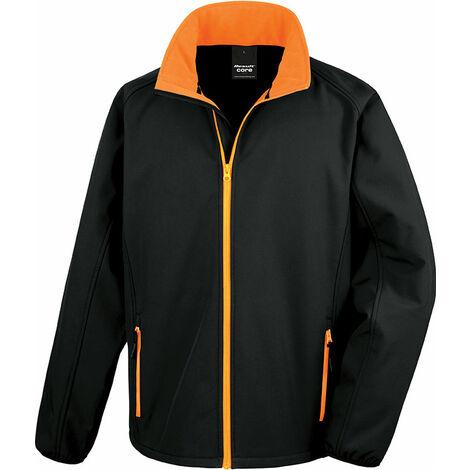 Veste softshell XL Black / Orange - Black / Orange
