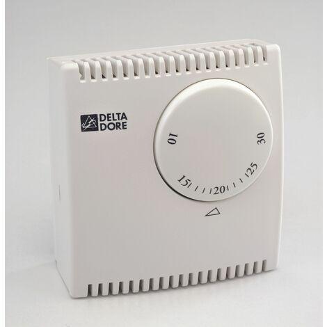 Delta Dore - TYBOX 10 Thermostat filaire pour chauffage et climatisation