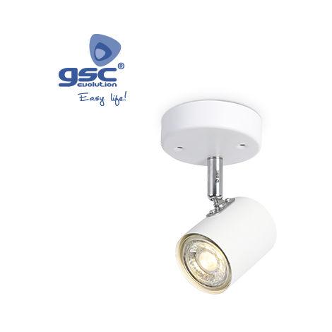 Foco techo simple GU10 Blanco