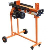 Forest Master FM10TW-TC Fendeuse de bûches électrique domestique de 5 tonnes avec support à chariot