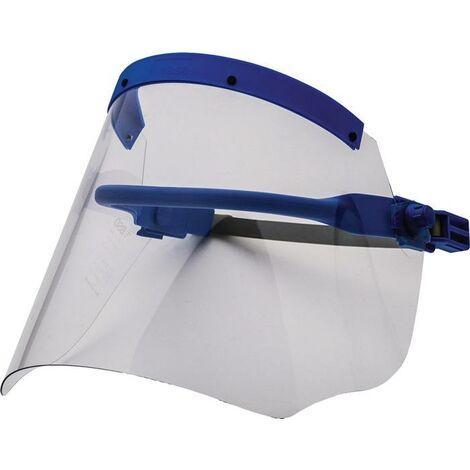 Écran protecteur p. électricien clair comme cristal, avec porte-casque 460 x 200 mm EN 166, EN 170, GS-ET-29 (2011)