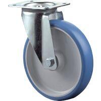 Rouleau de renvoi Ø de la roue 150 mm Capacité de charge 2 polyuréthane Longueur du plateau135xl110 mm Couleur d