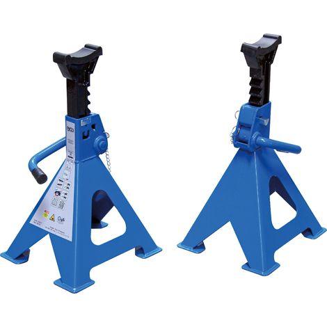 1 Paire de Chandelles charge 6 Tonnes ( tonnes par chandelles) 382 à 600 mm