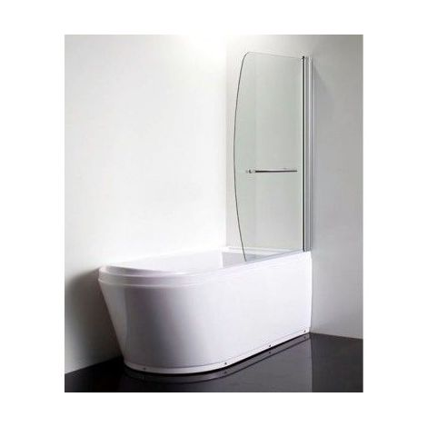 Pare baignoire GANDIA 90x140 cm - Noir