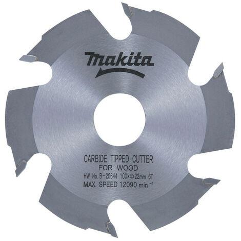 Makita - Lame carbure Ø 100 mm pour lamelleuses - B-20644