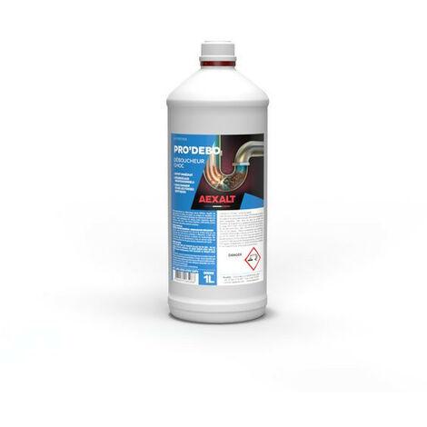 Aexalt - Déboucheur canalisations surpuissant 1 L - PRO'DEBO